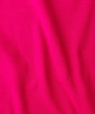 HOT PINK fabric by the METRE  Vintage dress material Tubular knit wool blend